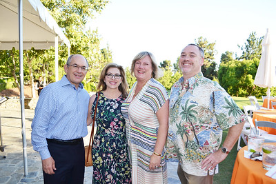 Fred and Lynette Sohl with Jennifer and Thomas Gowen