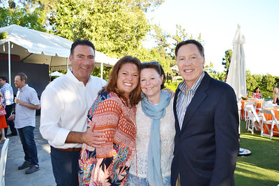 Bill and Jenny Stern with Lauren and Royal Oakes