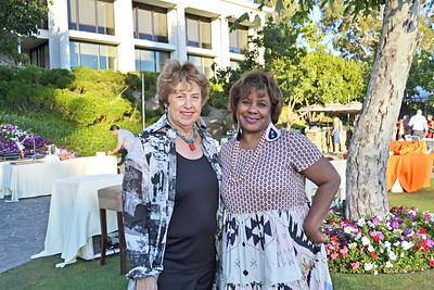 Elizabeth Polenzani and Janae Ward