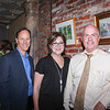 Jim and Becky Sarni with Scott Bell
