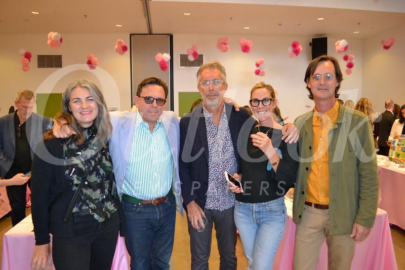 Kaya and Jeffrey Plansker, Jeff Waller, Audra Brosh and Mike Andrews