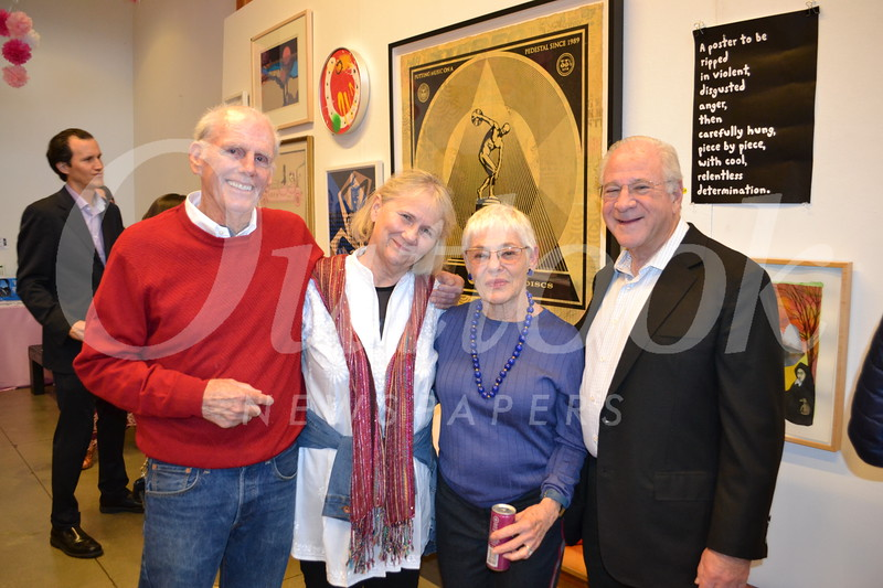 Mike Pyzel and Pam Rousseau with Ellen and Harvey Knell
