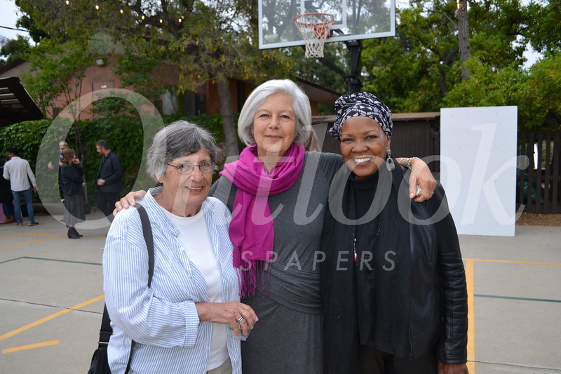 Hannah MacLaren, Ann Liashkov and Clara Hill-Williams