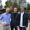 Michael Barak, Jeffrey Dollinger and Brian Wilson