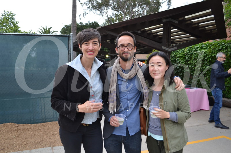 Nicole Belle, Ian Chang and Sandra Lim