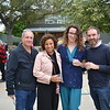 Jim and Vera Hourani with Liz Flahive and Jeff Cox