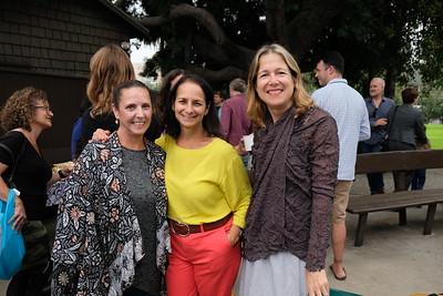 Sophia Bicos, Paula Kessler and Cathy Gudis