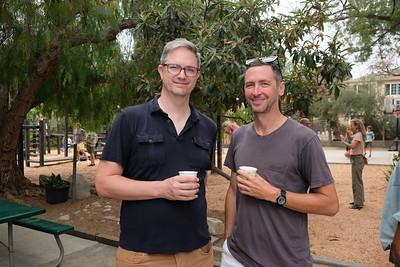 Chris Wilson and Steve Ayson