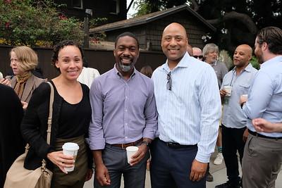 Zetna Fuentes, Darren Bigby and DuVon Davis