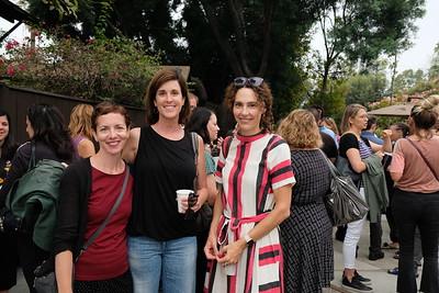 Julia Edwards, Laura Gowen and Kristina Bell