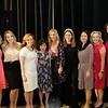 Natalie Delcarson, Julia Short, Kelli Clark, Naomi Silos, Lisa Stevens, Meghan Gage, Janice Lum, Marshann Varley and Jennifer Dunmore from event sponsor Aon.