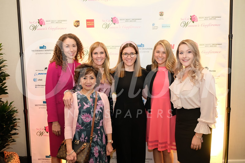 Jennifer Dunmore, Naomi Silos, Lisa Stevens, Meghan Gage, Natalie Delcarson and Julia Short