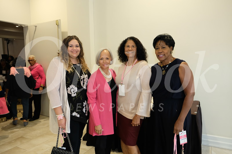 Jessica and Brenda Galloway, Wadie Gravely and Cortez Wilks
