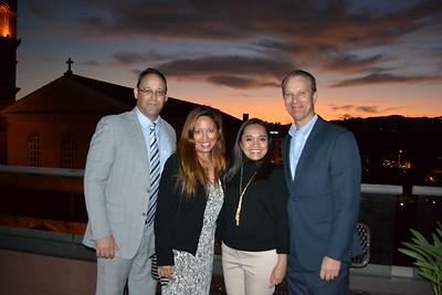 David and Arlene Reyes with Jennifer and David Klug