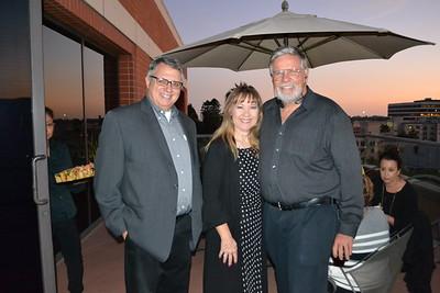 Tony Santilena with Linda and Mark Wolffe