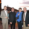 Bill Bogaard, Father Paul Sustayta, honoree Claire Bogaard and Mayor Terry Tornek