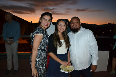 Veronica Betancourt with Amie and Peter Matus
