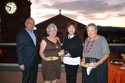 Alfred Paiz, Antoinette Gonzales, Jeanette Brown and Linda Beaven