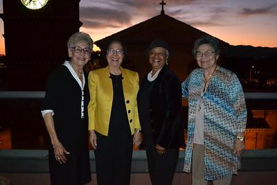 Esther Sustayta, Norma Ferriols, Joan Reid and Ana Cordero