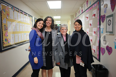 Cecilia Scott, Sarah Scott, Sister Daleen Larkin and Maria Rennard