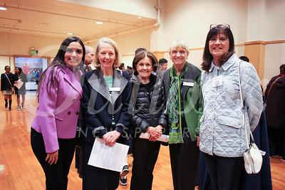 Veronica Betancourt, Virginia Conijn, Ann Longyear, Connie White and Margie Christ