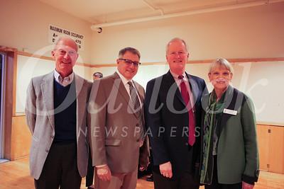 Gerard Conijn, Tony Santilena, Dr  Richard Gray and Connie White