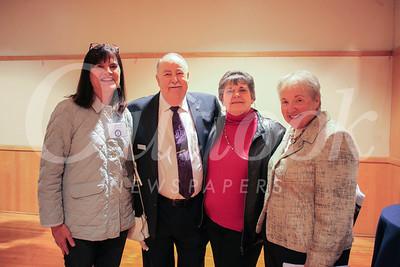 Margie Christ, John and Sharon Delaney, and Linda Beaven