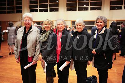 Mary Jo'Ann DeQuarttro, Anna Keim, Vera Ruotolo, Sharon Girolmon Corbitti and Susan Maloney