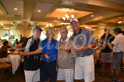 DSC_ Shayne Smith, Mike Trueblood, Fr  Tony Scannell and Drew Elshoff 1203