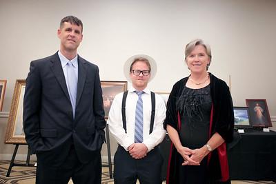 Darren Bradley, Daniel Selmeczy and Joanne Goodwin