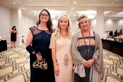 Angela Lessard, Crysta Halpin and Kimberly Johnson