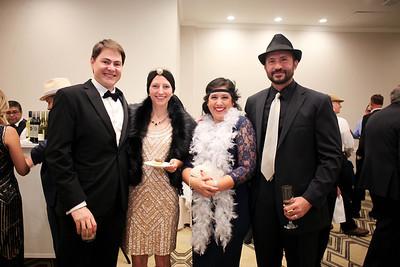 Thomas and Rebecca Quackenbush with Sandra and Joe Freymann