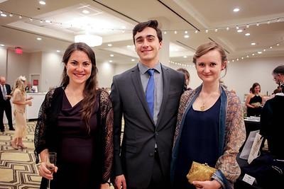 Elizabeth Quackenbush and Sorab and Rachel Ghandhi
