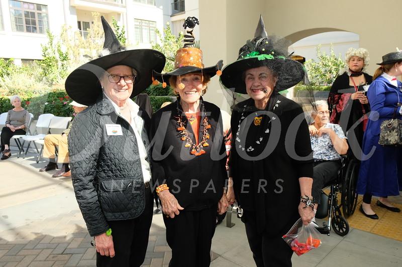 Janet Stevenson, Rita Coulter and Sandra De Jardin