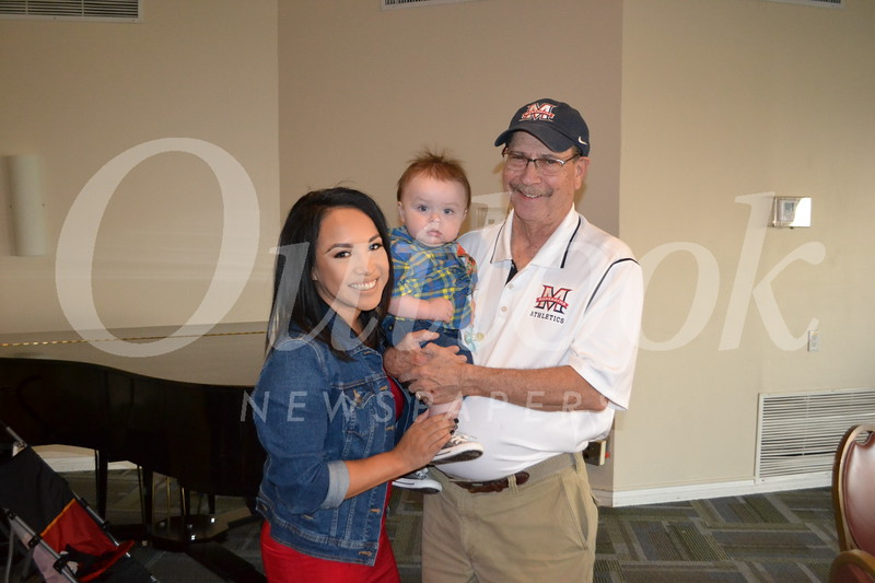 Nikki and Koa David with Tom Skidmore