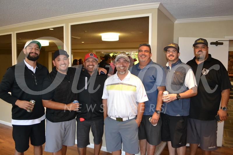 Andrew Ybarra, Richard Lira, George Caldera, Leonard Triag and Art, Abraham and Andy Mercado