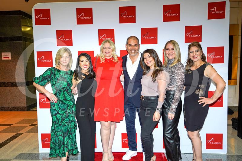Lisa Ashworth, Jessica Soo, Mia Babcock, Gus Ruelas, Karine Aslanian, Jennifer Newsome and Karen Babakhanians