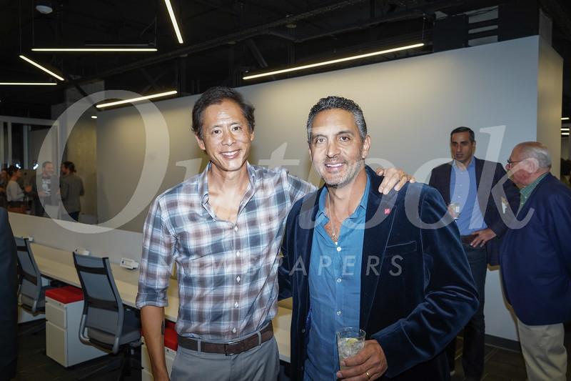 Brent Chang and Mauricio Umansky
