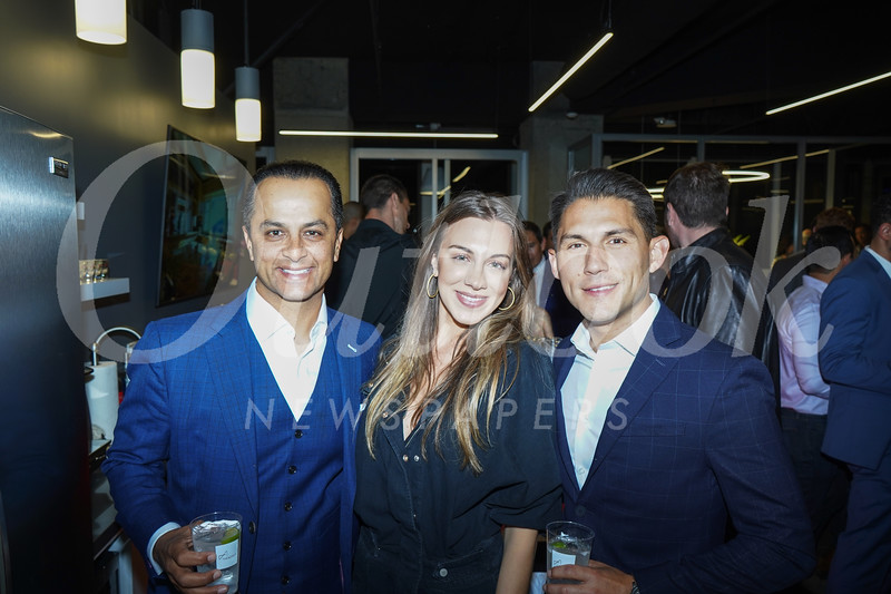 Waleed Delawari, Stephanie DeCarlo and Daniel Arias