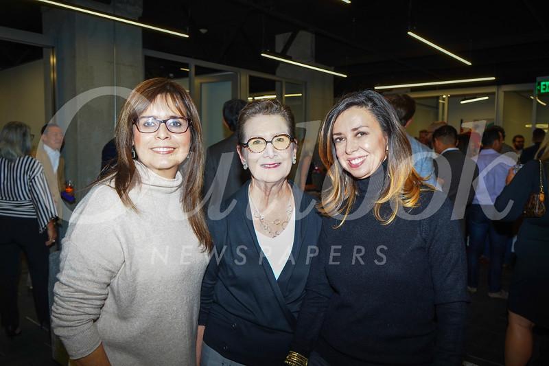 Cecilia Keffer, Kelley Brock and Veronica Paglia