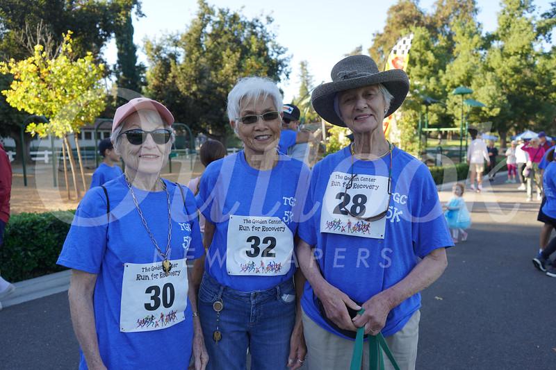 Ida Hankins, Pat Tom and Betsey Tyler