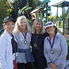 Sally Doll, Jill Perth, Margie Skogen and Denise Botsford