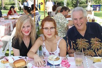 Rebecca Carpenter, Alexsia Johnson and Robert Rabe