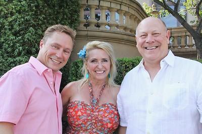 Paul Leclerc, Debbie Mueller and Michael Ross