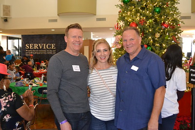 Scott and Giusy Brown with Vance Weisbruch