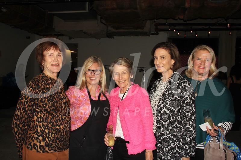 Lynda Patton, Amy Kessel, Sue Ball, Liz Algermissen and Leigh Olivar