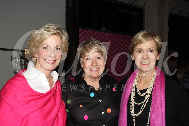 Millie Steinbrecher, Ann McGilvray and Jinny Dalbeck