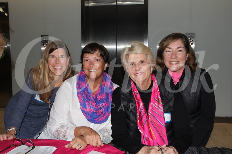 Stephanie Thorne, Evelyn Boss, Karen Beardsley and Deborah Hollingsworth