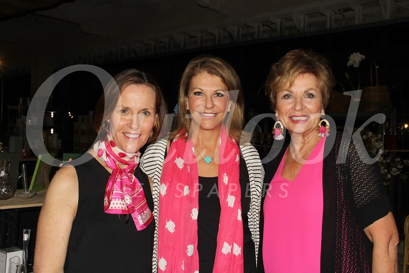 Melissa Patterson, Cherie Harris and Becky Garnett