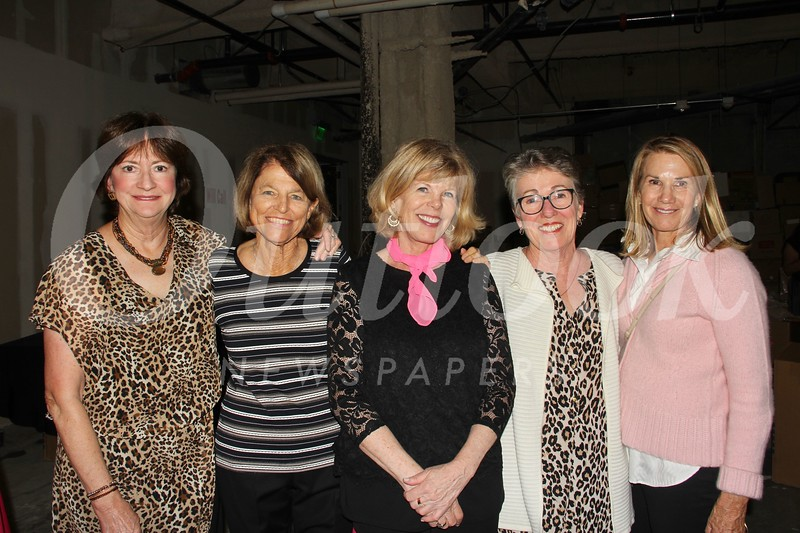 Carol Williams, Diane Saunders, Molly Taylor, Colleen Carey and Nena Brogan